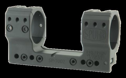 Тактический кронштейн SPUHR D40мм на Picatinny, H38мм, без наклона (SP-7002)