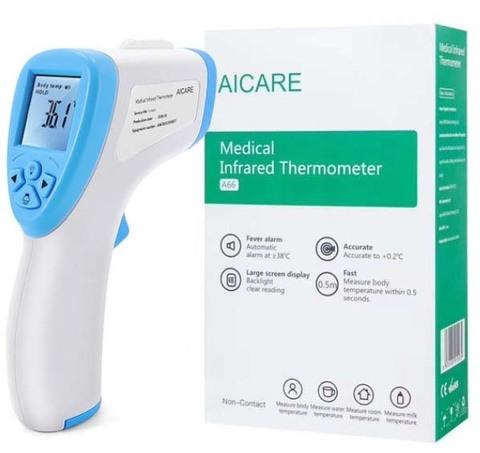 Бесконтактный инфракрасный термометр Aicare A-66