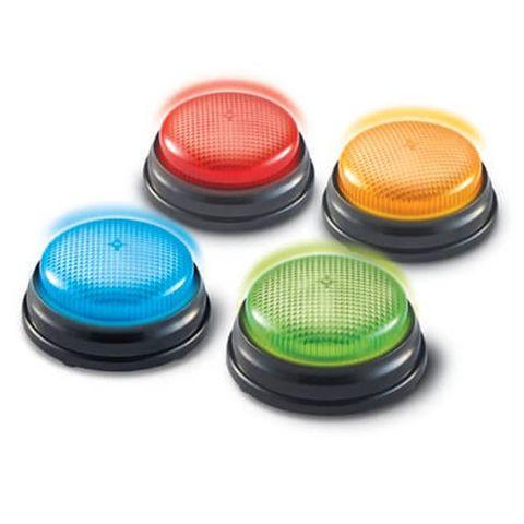 """LER3776 Гигантские кнопки """"Свет и звук"""" (4 элемента)"""