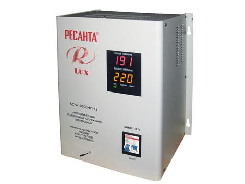 Стабилизатор РЕСАНТА АСН-10000 Н/1-Ц Lux