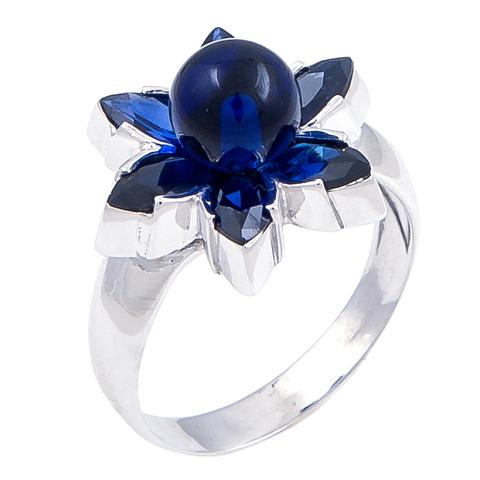 Кольцо с сапфиром Арт.1120кс