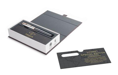 Перьевая ручка Parker Sonnet Special Edition 2018 Stratum Grey PGT123