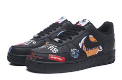 Supreme x NBA x Nike Air Force 1 'Black'
