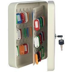 Шкаф для ключей Onix К-96 серый (на 96 ключей, металл)