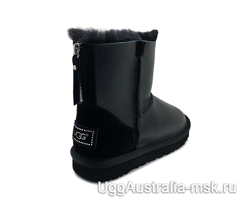 UGG Zip Mini Metallic Black