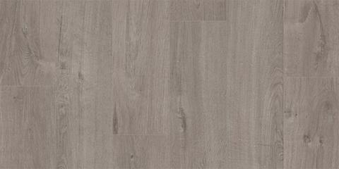 Кварц виниловый ламинат Quick Step LVT Pulse Rigid Click Дуб хлопковый темно-серый RPUCL40202