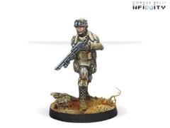 Minuteman (вооружена Boarding Shotgun)
