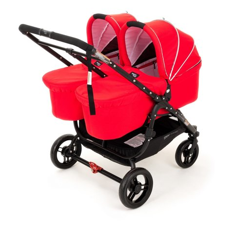 Люлька Valco baby External Bassinet для Snap Duo / Fire red