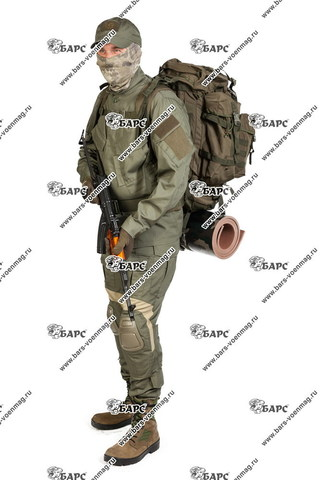 Камуфляжный костюм «Гром» (С наколенниками) Олива