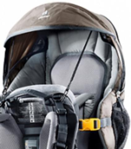 Картинка рюкзак-переноска Deuter Kid Comfort III Black-Granite - 3