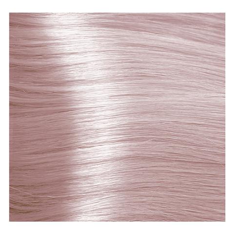 Крем краска для волос с гиалуроновой кислотой Kapous, 100 мл - HY 10.016  Платиновый блондин пастельный жемчужный