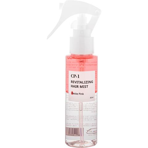 Мист для волос ГРУША/ПЕРСИК CP-1 Revitalizing Hair Mist (Petite Pink), 80 мл, ESTHETIC HOUSE