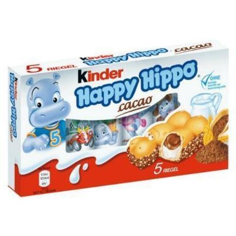 Бегемотики Kinder Happy Hippo Cacao 104 гр