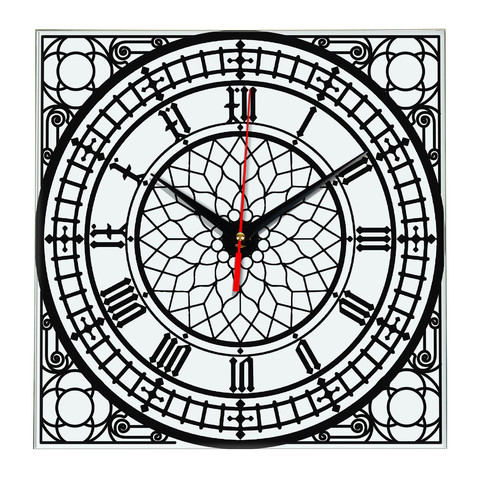 Часы в стиле циферблата Биг Бэн