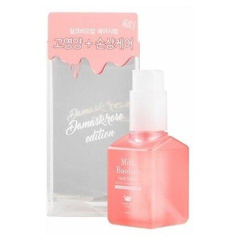 MILK BAOBAB HAIR Эссенция для волос с маслом розы MilkBaobab Hair Syrup Essense Damask Rose 100мл
