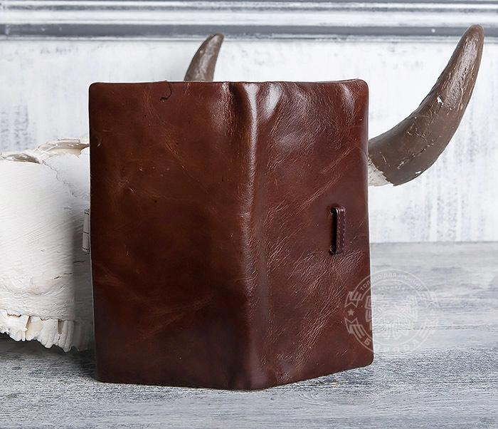 WL270-2 Мужской клатч из кожи винтажного дизайна фото 04