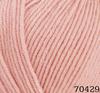 Пряжа Himalaya Everyday Bebe Lux 70429 (розовая пудра)