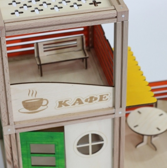 WOODJO CAFE 57 элементов