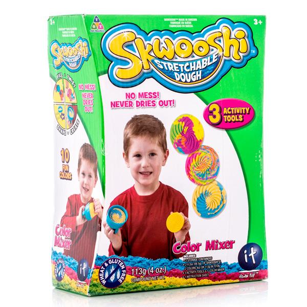 Skwooshi S30008 Сквуши Набор для смешивания цветов - масса для лепки и аксессуары