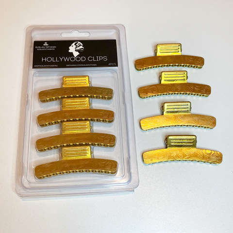 Hair clips for Hollywood waves