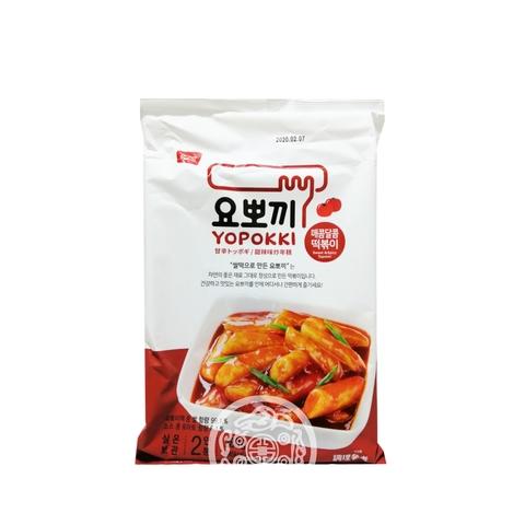 Рисовые клёцки Токпокки OTTOGI с остро-сладким соусом 280г Корея