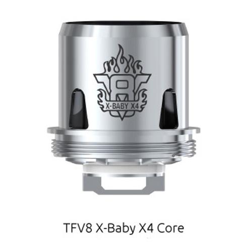 Сменный испаритель SMOK TFV8 X-Baby (Beast Brother) X4 0,13 Ω