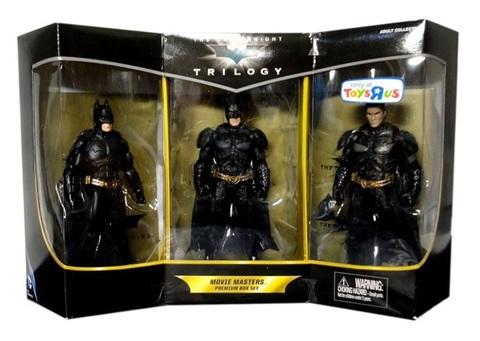 Batman The Dark Knight Exclusive Trilogy Movie Masters