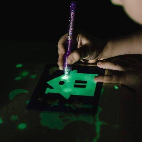 Планшет для рисования в темноте Рисуй светом А 4 размер 30*43