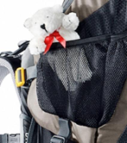Картинка рюкзак-переноска Deuter Kid Comfort III Black-Granite - 4
