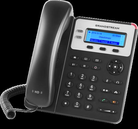 Grandstream GXP1620 (без POE) - IP телефон. 2 SIP аккаунта, 2 линии, есть подсветка экрана