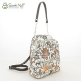 Сумка Саломея 140 цветы бронза (рюкзак)