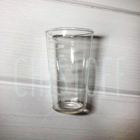 Мерная емкость стеклянная 250 мл