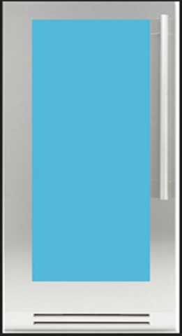 Холодильник для шуб Fhiaba KS8990FW 6 (правая навеска)