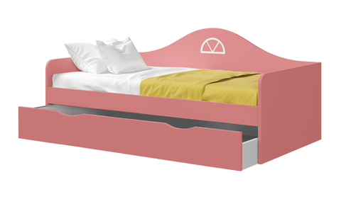 Диван-кровать подростковая с выкатным ящиком