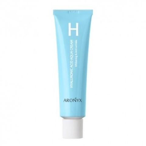 Aronyx крем увлажняющий с гиалуроновой кислотой и пептидами (Hyaluronic acid aqua cream), 50мл