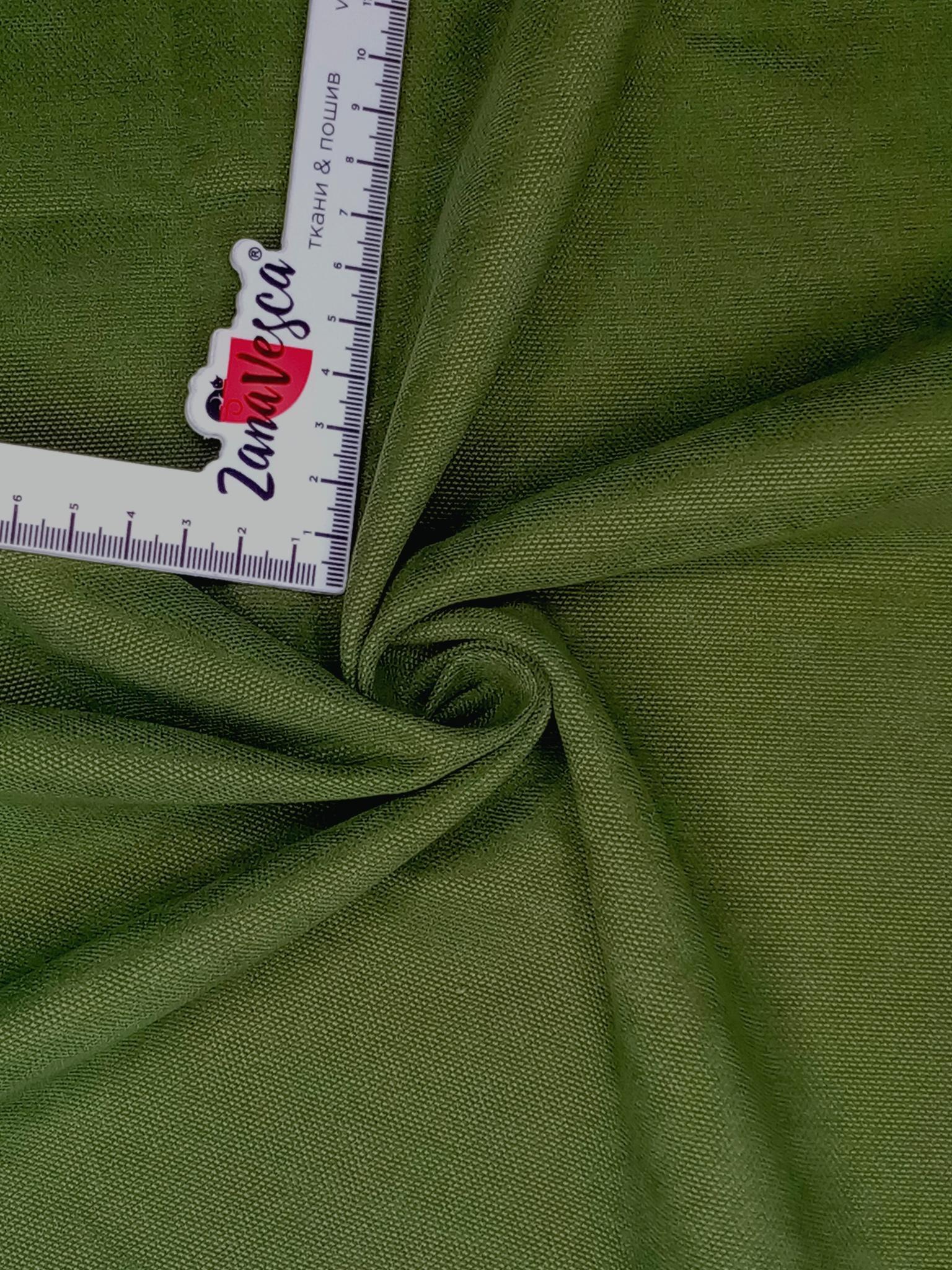 Канвас-велюр Зеленый