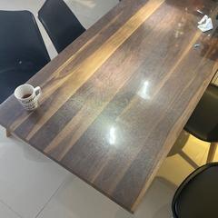 Рифленое мягкое стекло на стол, толщина 1.2мм.