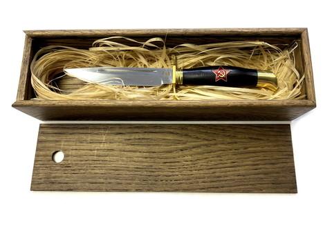 Подарочная коробка (пенал) для ножа, дуб