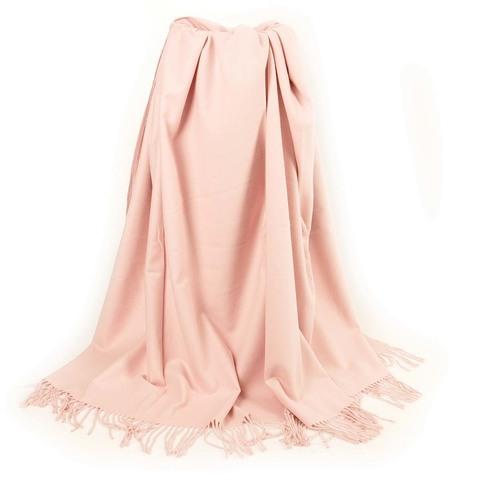 Плед из хлопка Кевин розовый