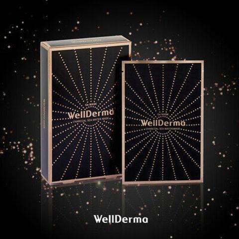 WELLDERMA Charcoal Sea Water Mask (10ea)