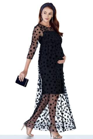 Платье для беременных 11253 чёрный
