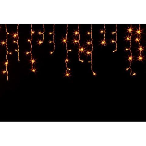 Гирлянда светодиодная «Бахрома», тёплый белый свет, CL14 (Feron)