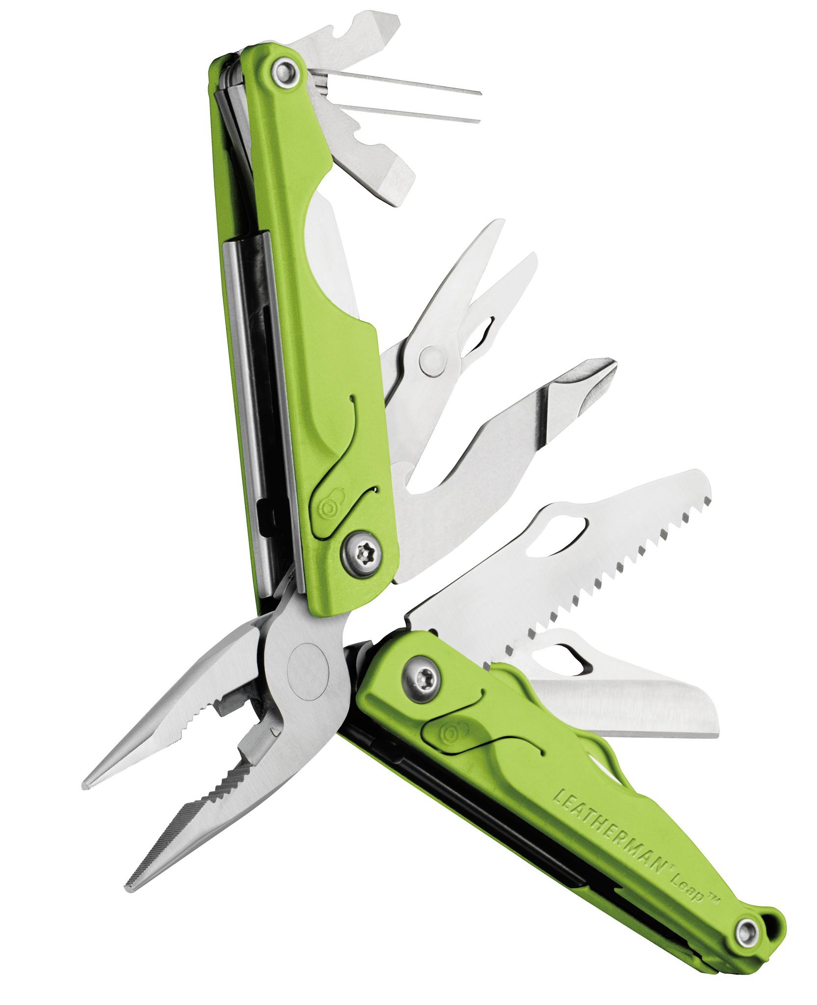 Мультитул Leatherman Leap, 12 функций, зеленый