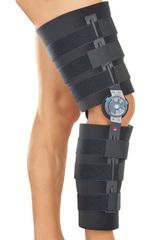 Реабилитационный коленный ортез (брейс) с регулятором - medi rom II
