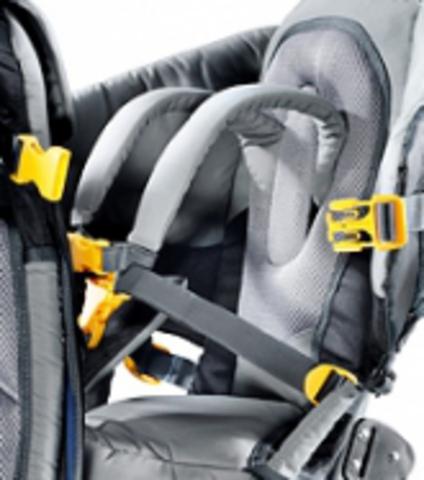 Картинка рюкзак-переноска Deuter Kid Comfort III Black-Granite - 5