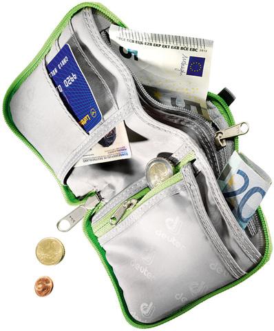 Картинка кошелек Deuter Zip Wallet emerald - 2