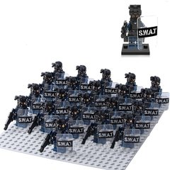 Минифигурки Военных Полиция SWAT серия 390