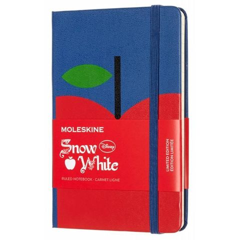 Блокнот Moleskine Limited Edition SNOW WHITE LESNMM710AP Pocket 90x140мм 192стр. линейка Apple (Яблоко)