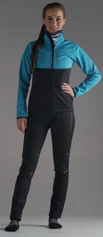 Утеплённый лыжный костюм Nordski Premium Breeze/Black женский