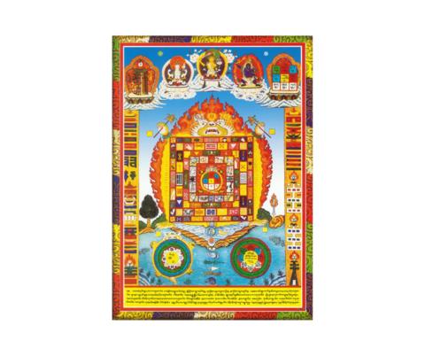Постер Космическая черепаха тибет